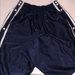 VINTAGE NIKE TEAR AWAY TRACK PANTS